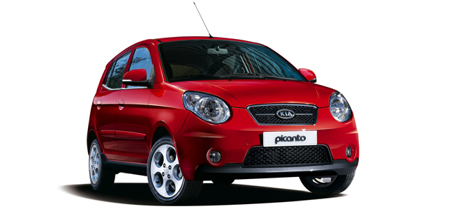 Kia Picanto Oscar Rent a car all over Crete