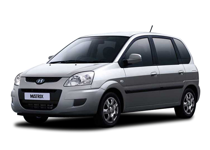 Hyundai Matrix - Oscar Car Rent a car all over Crete
