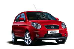 Kia Picanto - Oscar Car rent a car all over Crete