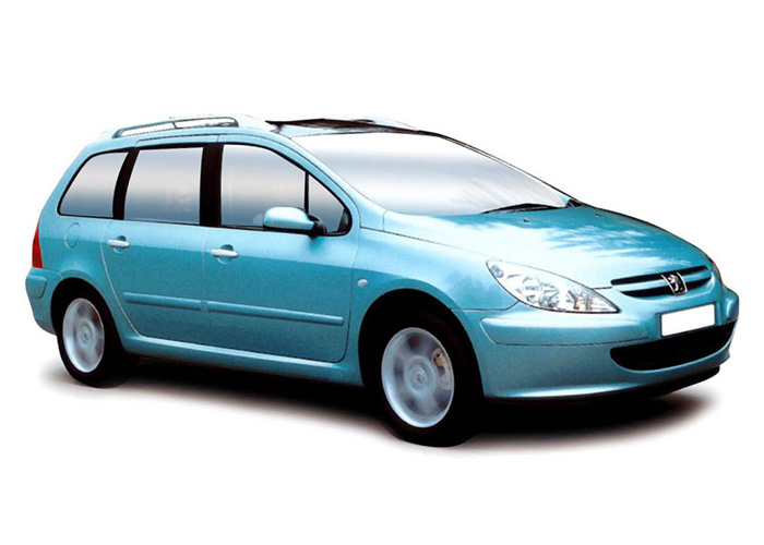Peugeot 307 - Oscar Car Rent a car all over Crete