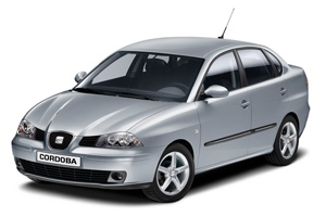 Seat Cordoba - Oscar Car Rent a car all over Crete