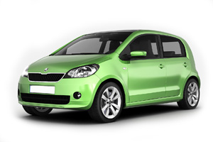 Skoda Citigo - Oscar Car Rent a car all over Crete