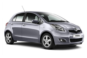 Toyota Yaris - Oscar Car Rent a car all over Crete